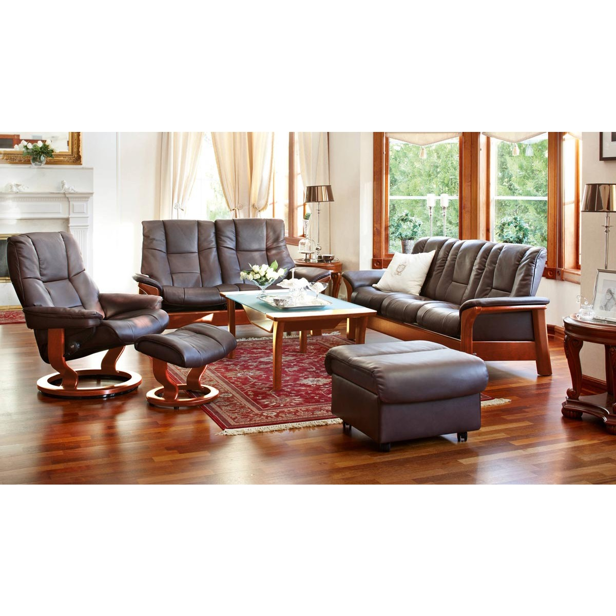 Stressless Buckingham Low-Back Sofa  sc 1 st  Danco Modern : chair buckingham - Cheerinfomania.Com