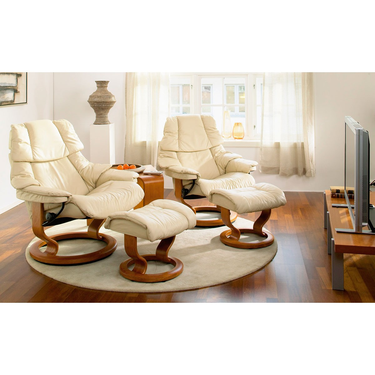 Stressless Reno Small Recliner Ottoman From 279500 By
