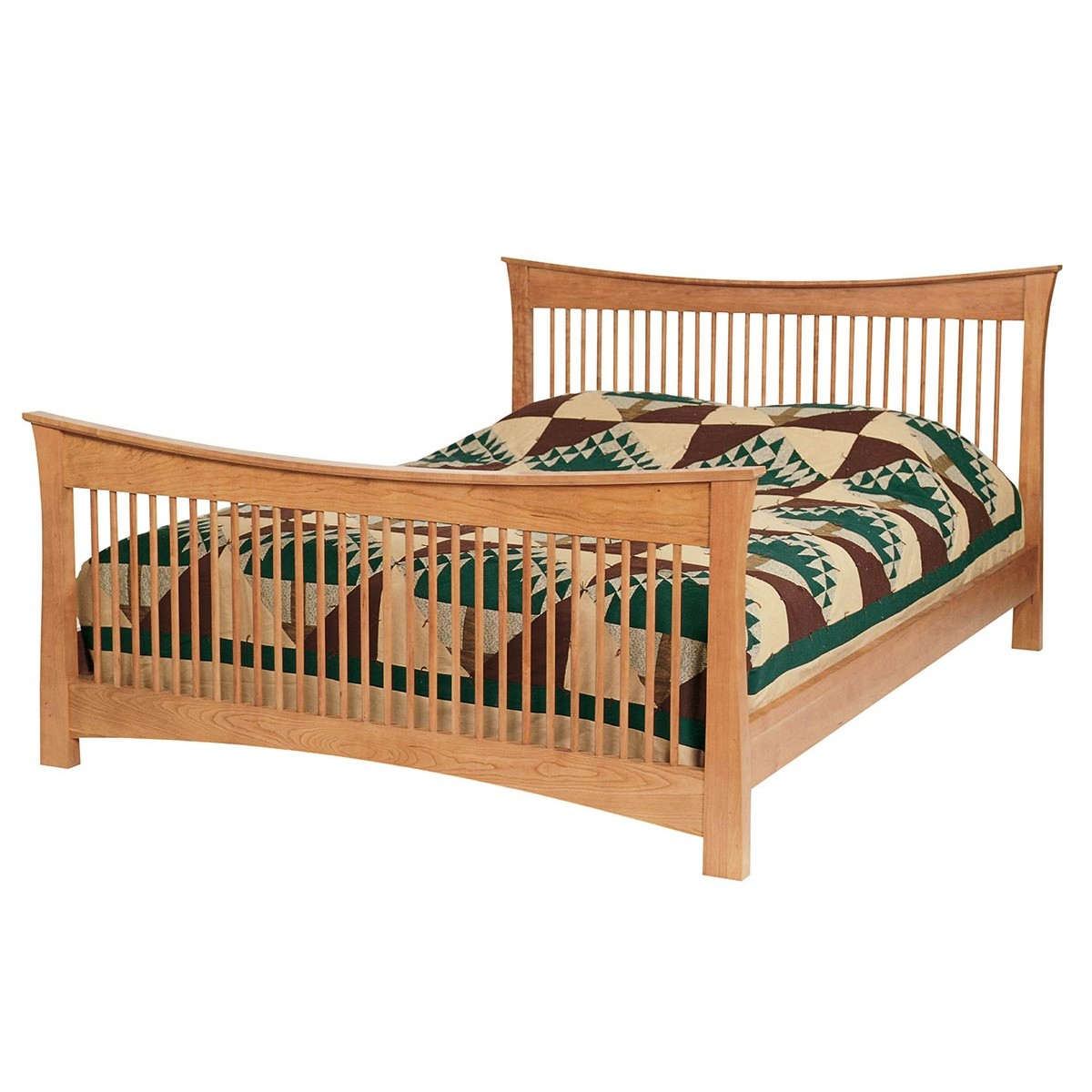 Lyndon Granby Queen Bed With Low Or Hi Footboard From