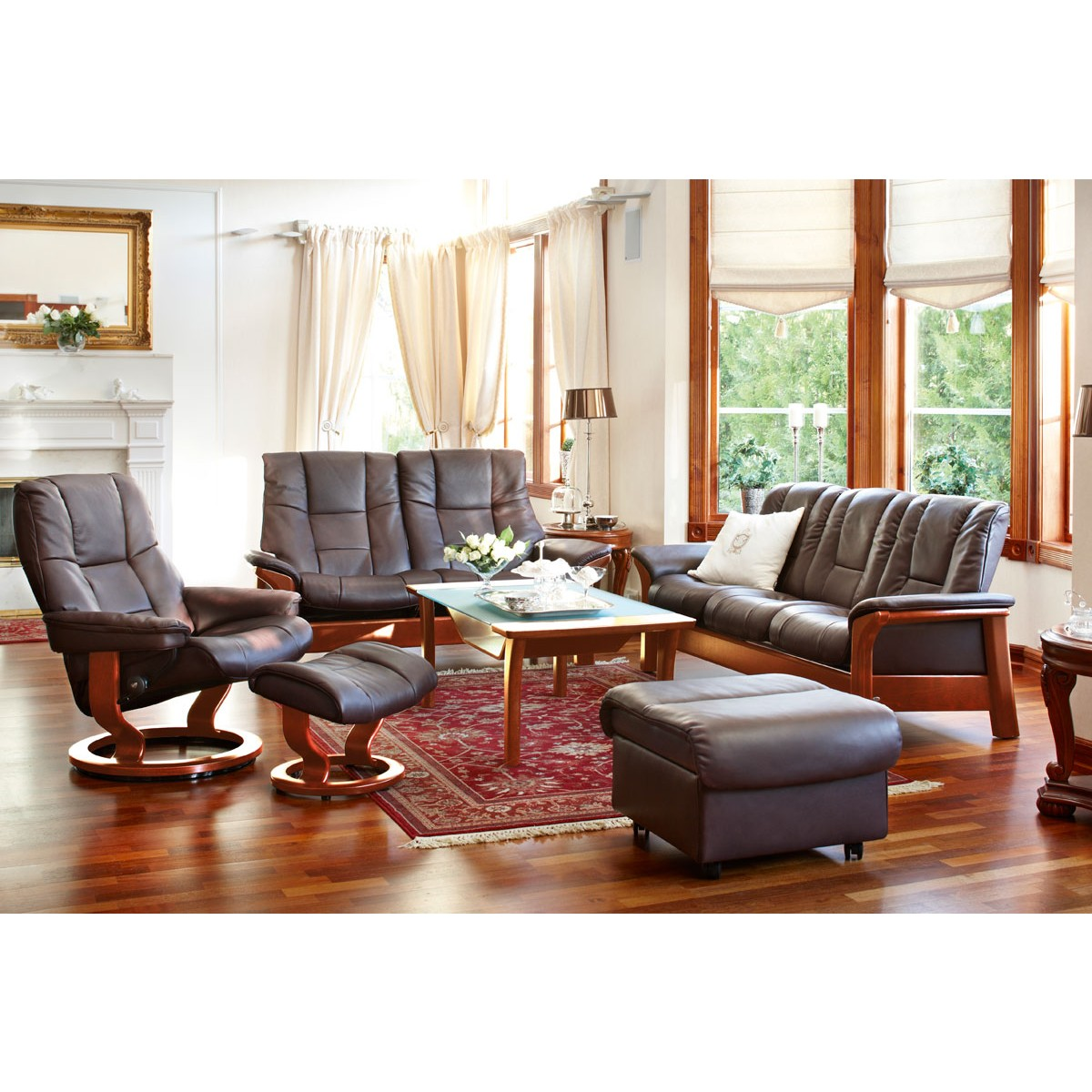 stressless mayfair large recliner ottoman from 2 795 00 by