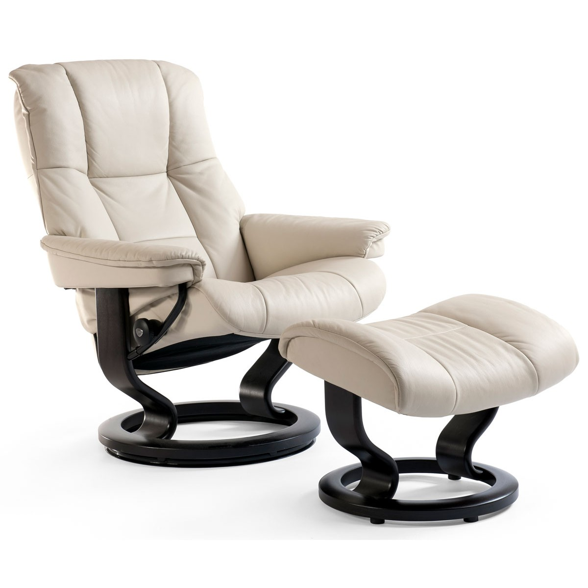 large by swivel classic base ekornes products chair recliner with stressless magic and reclining number item ottoman