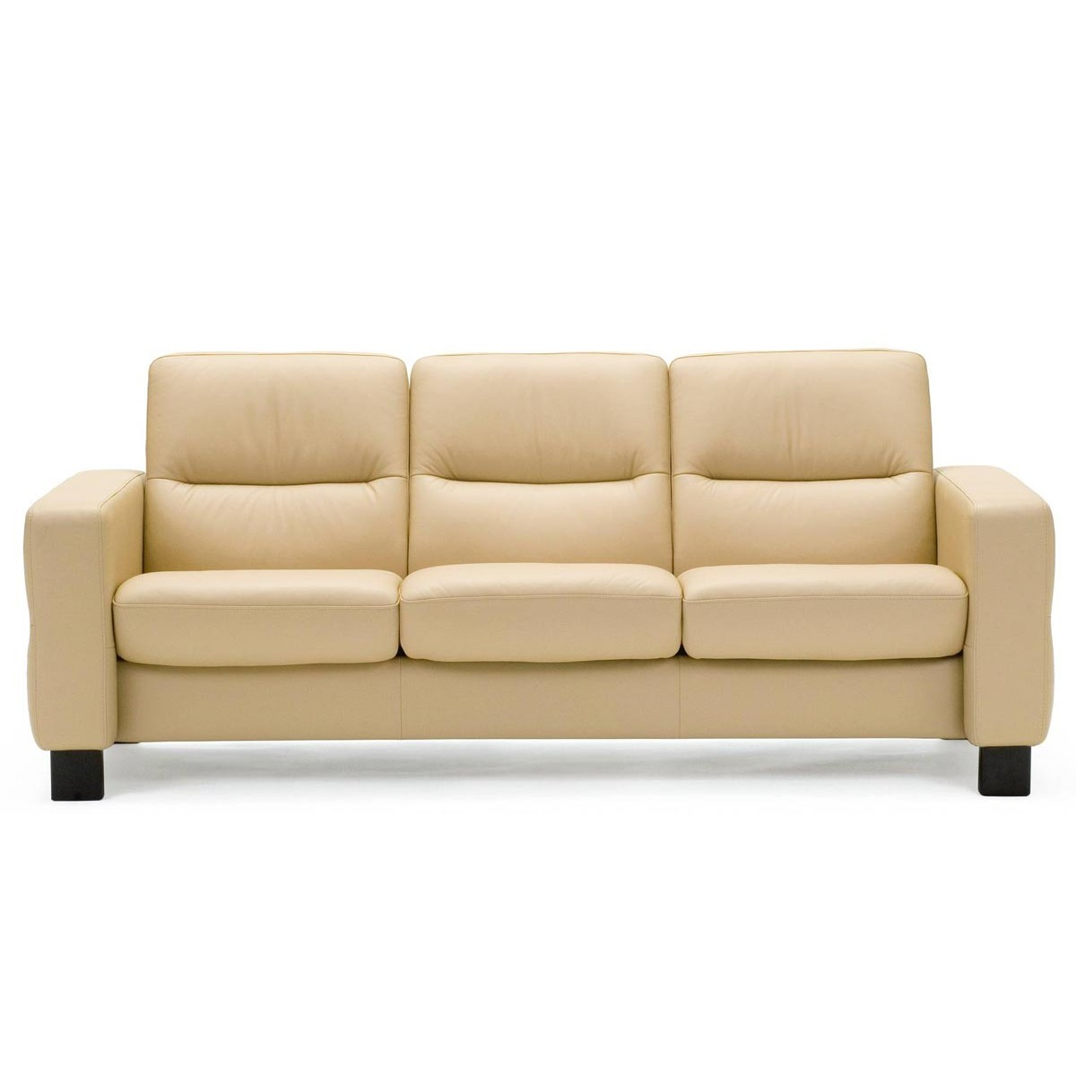 Stressless wave low back sofa from 2 by stressless for Sofa 1 5 sitzer