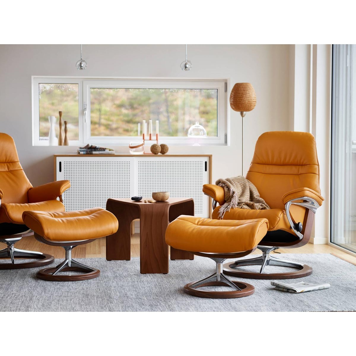Stressless Sunrise Signature Recliner & Ottoman from $2,000.00 by ...