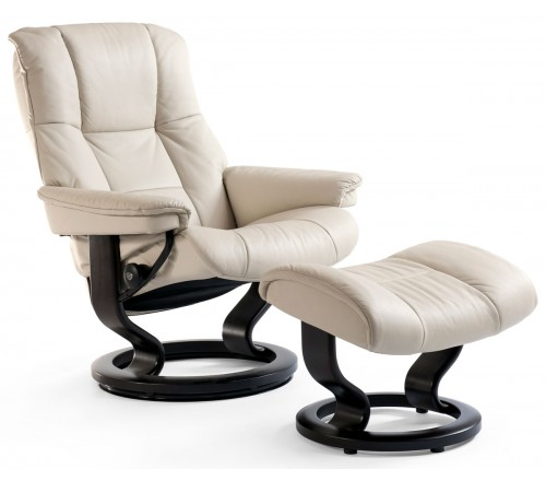 Stressless Mayfair Large Recliner & Ottoman