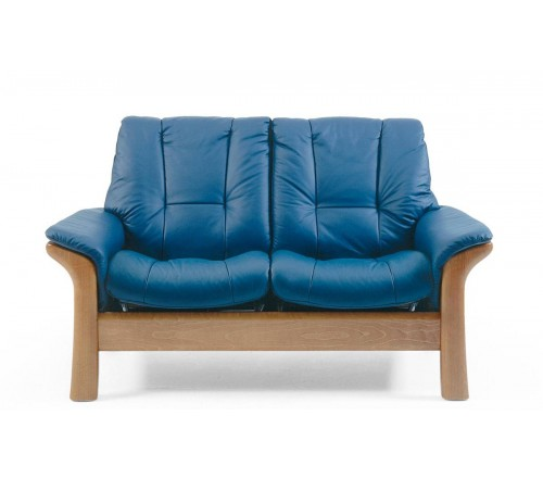 Stressless Windsor Low-Back Loveseat