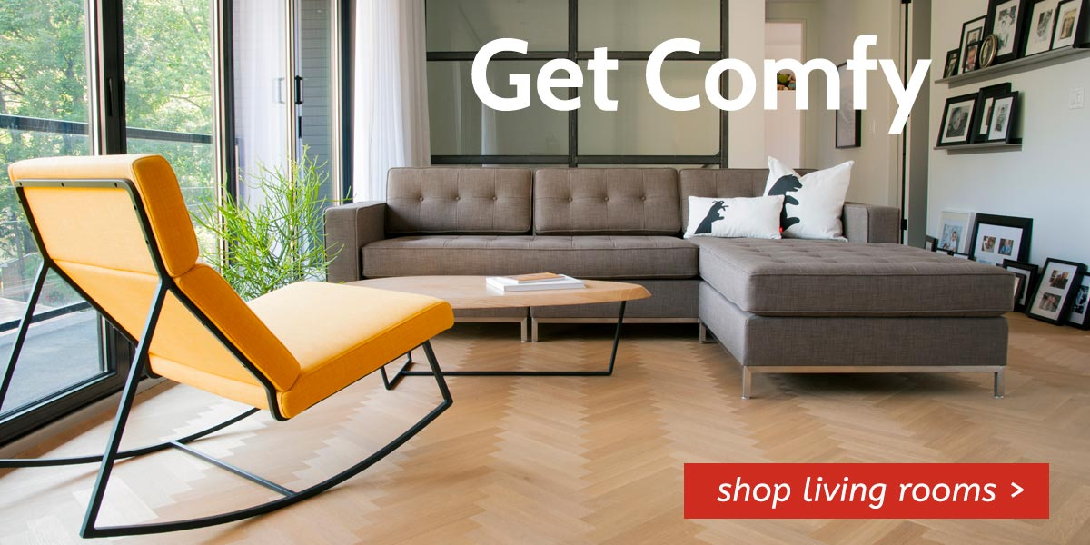 Get comfy with Danco Living Room Furniture