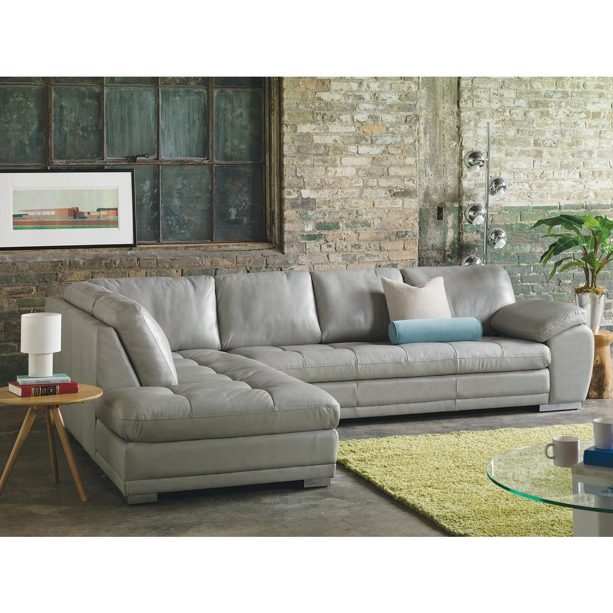 Chic Contemporary Furniture: Palliser Miami Sectional From $1,968.00 By Palliser