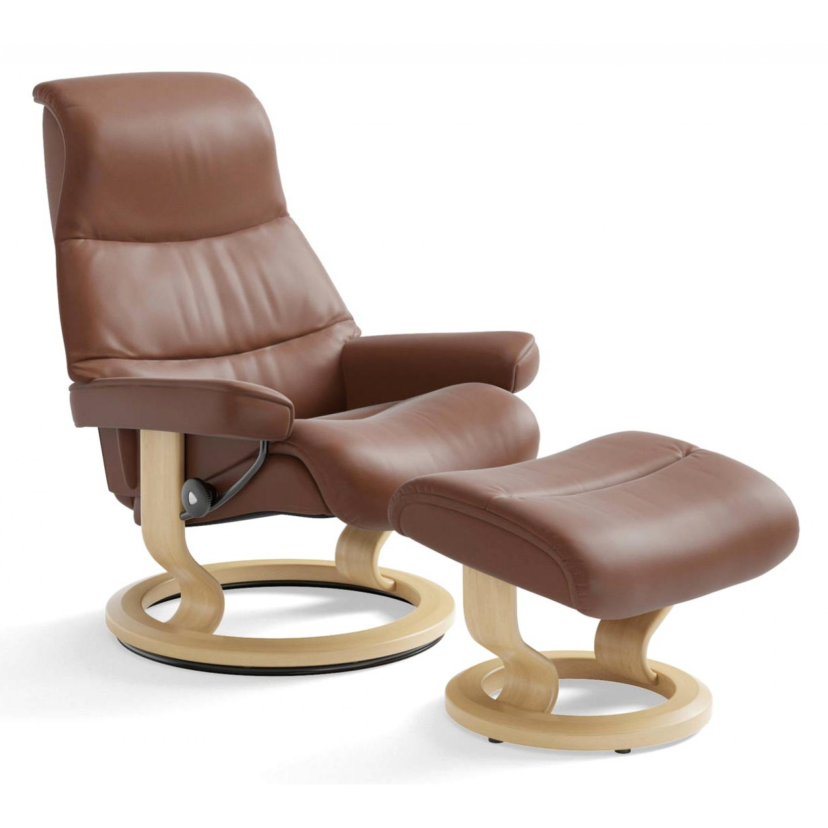 Stressless View Classic Recliner Amp Ottoman From 3 195 00