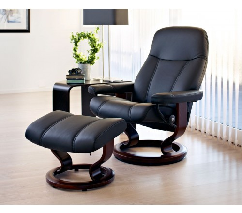 Stressless Consul Small Recliner Amp Ottoman From 1 695 00