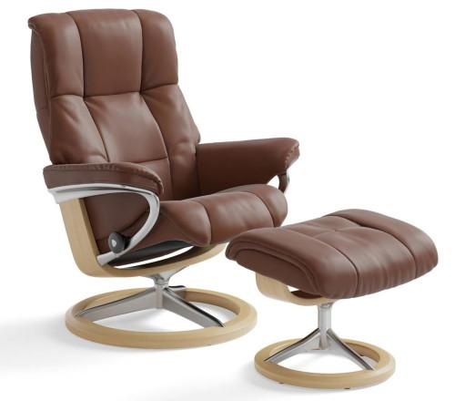Terrific Stressless Mayfair Signature Recliner Ottoman Creativecarmelina Interior Chair Design Creativecarmelinacom