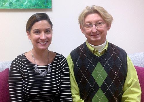 Kensington Marsh and Emily Luippold, interior designers at Danco Modern